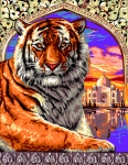 Royal Paris Tapestry � Bengal Tiger