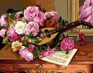 Royal Paris Tapestry Canvas - Bouquet of Roses