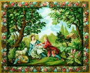 Royal Paris Tapestry Canvas - Charms of Country Life