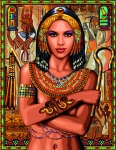 Royal Paris Tapestry Canvas � Egyptian Princess