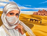 Royal Paris Tapestry Canvas � Lady from Sahara