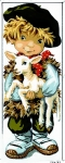 Royal Paris Tapestry/Needlepoint - Little Shepherd Pio