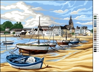 Royal Paris Tapestry Canvas � The Breton Harbour