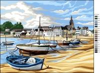Royal Paris Tapestry Canvas � The Breton Harbour