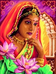 Royal Paris Tapestry Canvas � The Indian Princess