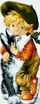 Royal Paris Tapestry/Needlepoint - Little Wolf Pio