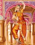 Royal Paris Tapestry/Needlepoint - Bollywood Dancer