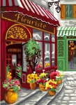 Royal Paris Tapestry/Needlepoint - French Flower Shop