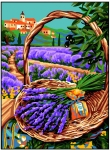 Royal Paris Tapestry/Needlepoint � Lavender Hills