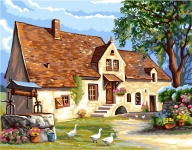 Royal Paris Tapestry/Needlepoint - The House
