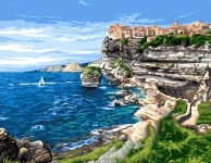 Royal Paris Tapestry/Needlepoint Canvas - Corsica (La Corse)