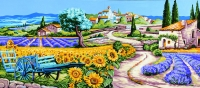 Royal Paris Tapestry/Needlepoint Canvas - Gentle Provence
