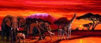 Royal Paris Tapestry/Needlepoint Canvas - Kilimanjaro