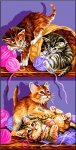 Royal Paris Tapestry/Needlepoint Canvas � Kitten Games