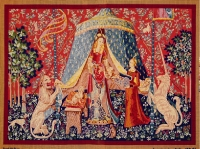 Royal Paris Tapestry/Needlepoint Canvas - The Lady and the Unicorn