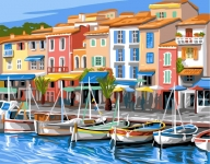 Royal Paris Tapestry/Needlepoint Canvas � The Marina