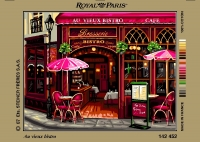 Royal Paris Tapestry/Needlepoint Canvas � The Old Caf�