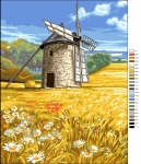 Royal Paris Tapestry/Needlepoint Canvas - The Windmill