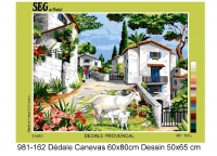 SEG de Paris Tapestry/Needlepoint � Provincial Village