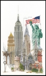 Thea Gouverneur Cross Stitch Kit - New York/America 18#