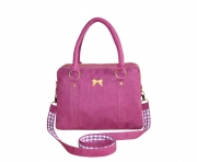Alice FairTrade Handbag Magenta by Earth Squared