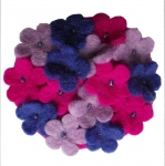 Beauty Fair Trade Felt Brooch