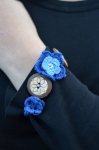 Belinda Flower and Button Bracelet