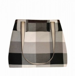 Charlie Handbag Black & Grey Check