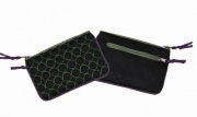 Charlie Quilted Purse Black