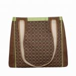 Charlie Quilted Handbag Brown