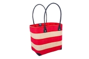 Buoy Raffia Straw  Fairtrade Beach or Shopping Bag