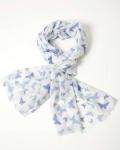 Papillion Butterflies Cashmere Scarf 