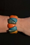 Chambazz Fair Trade Tagua Bracelet Multi Coloured