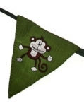 Cheeky Monkey Fairtrade Felt Bunting by Felt So Good