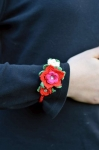 Demelza crocheted flower Bracelet