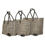 Dogtooth Sisal  Fairtrade Beach or Shopping Bag
