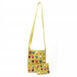 Dotty Fairtrade Felt Bag by Felt So Good