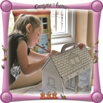 Eco friendly recycled Carry Me Home Dolls House
