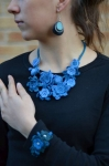 Esmerelda Crocheted Statement Necklace