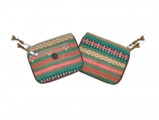 Fair Isle Fairtrade Purses by Earth Squared  Brown