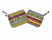Fair Isle Fairtrade Purses by Earth Squared Grey