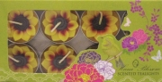 Floral Scented Sunflower Tealight Candle Refill Pack