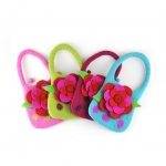 Rosy Girl Felt Flower Bag 