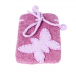 Butterfly Felt Fair trade Mobile Phone Case