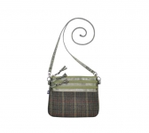 Fairtrade Tweed Pouch Bag by Earth Squared Green