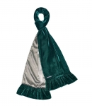 Fairtrade Velvet and Satin Scarves by Earth Squared Green