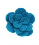 Flew Fair Trade Felt Flower Brooch