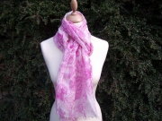 Fleur Merino Wool Scarf 