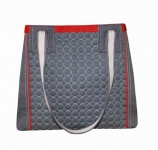 Charlie Quilted Handbag Grey