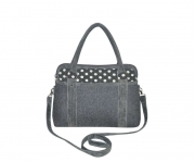 Haddington Fairtrade Felt Handbag by Earth Squared Grey